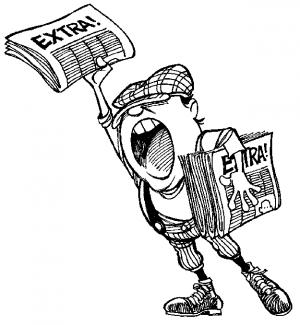 Extra! Extra! Autor surta ao descobrir que ele mesmo terá que vender seus livros! Quinto caso só esse mês!