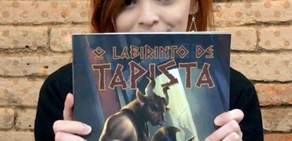 Papo Pop #33 – O Labirinto de Tapista (livro-jogo)